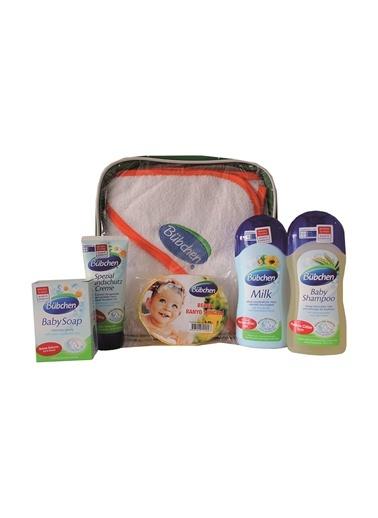 Bübchen Bebek Bakım Seti - Banyo Süngeri ve Havlu Hediyeli-Bübchen